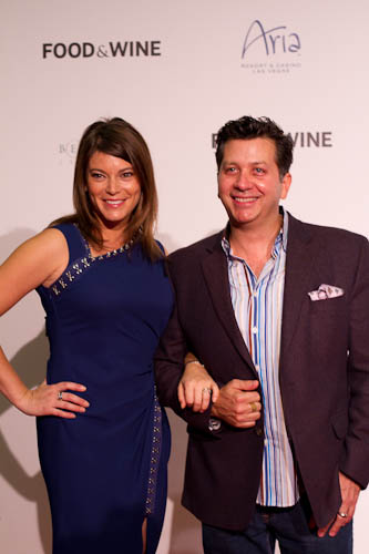FOOD & WINE's Gail Simmons and Anthony Giglio