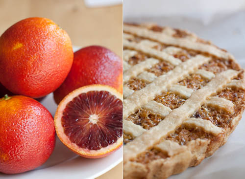 Blood Orange Marmalade Tart