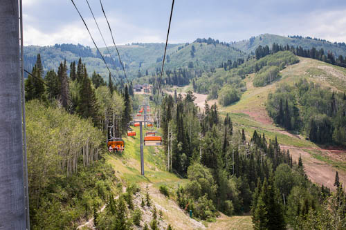 park city, utah in the summer