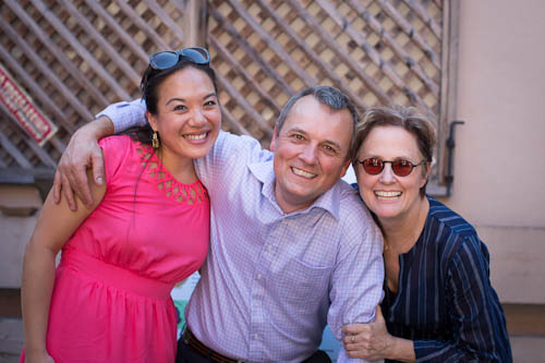 Stephanie Hua, Thomas Odermatt, and Alice Waters