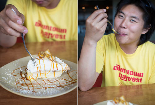 Hua and Banana Cream Pie