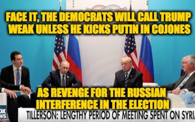 The Democrats Won't Admit It, But The Trump-Putin Meeting Was A Success