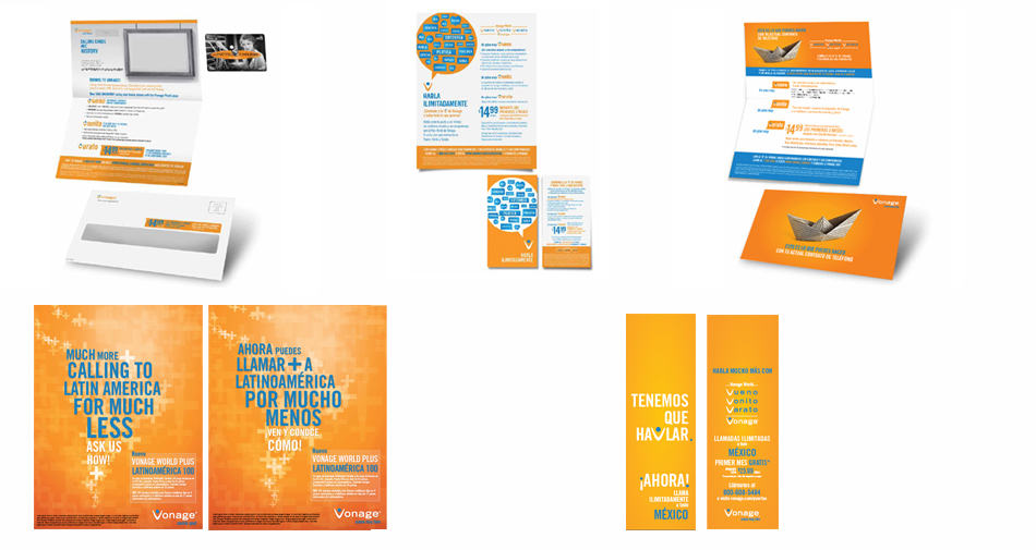 direct mail vonage