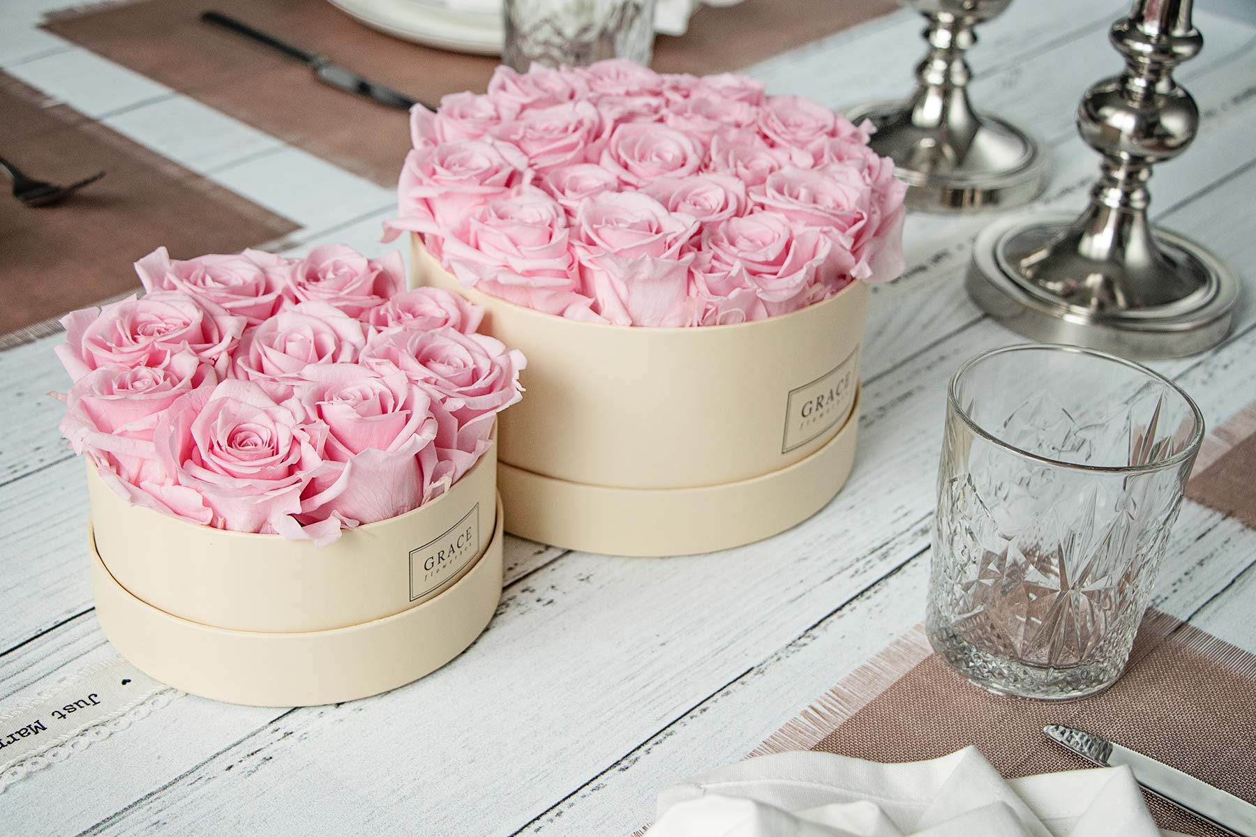 Grace Flower Box Grace Flowerbox Table Size Kollektion Für Die Tischdeko