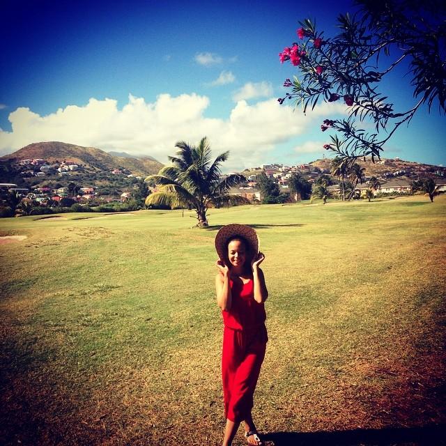 In love with St.Kitts❤  #SKN #Basseterre #GuteLauneTänzchen  auf dem Weg zur #WeekofActivitiesCentralBasseterre