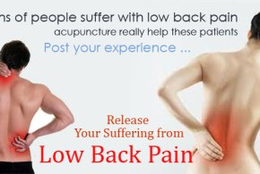 Acupuncture Effective for Treating Chronic Low Back Pain