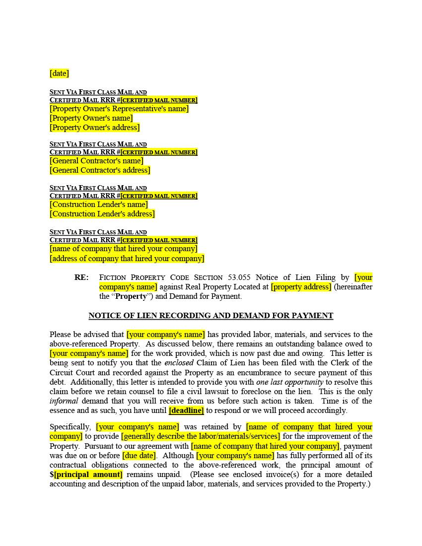 California Hazardous Material Spill Release Notification 5 Biggest Mistakes On Florida Mechanics Lien