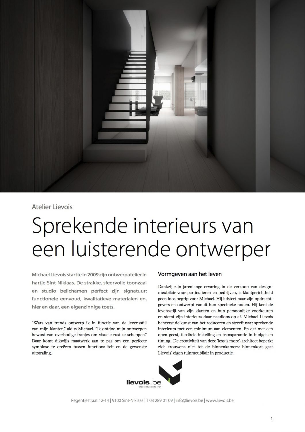 Interieur Design Sint Niklaas Lievois Be Interieurarchitect Sint Niklaas