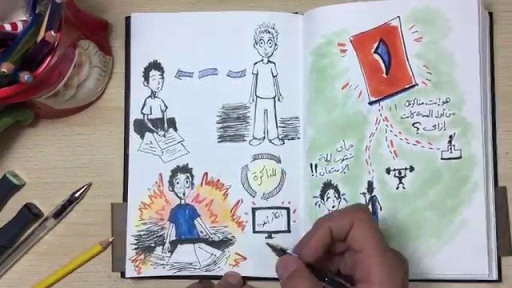 الحلقة الثانية من برنامج – أسلوب في دقيقة – الإمتحانات كمان كام يوم… ياترى في أمل؟؟ فيديو جديد