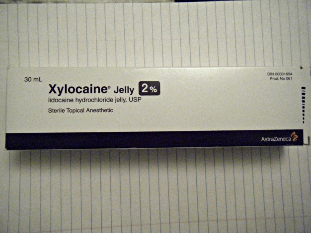 xylocaine jelly in mouth