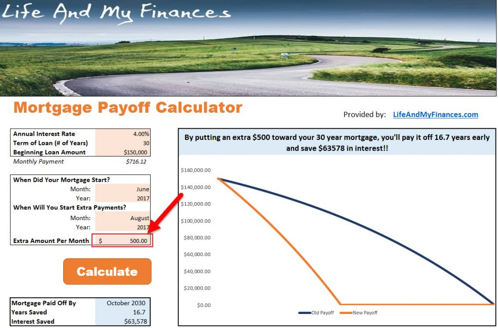 Free Mortgage Payoff Calculator - It\u0027s Time to Pay Off Your Mortgage!!