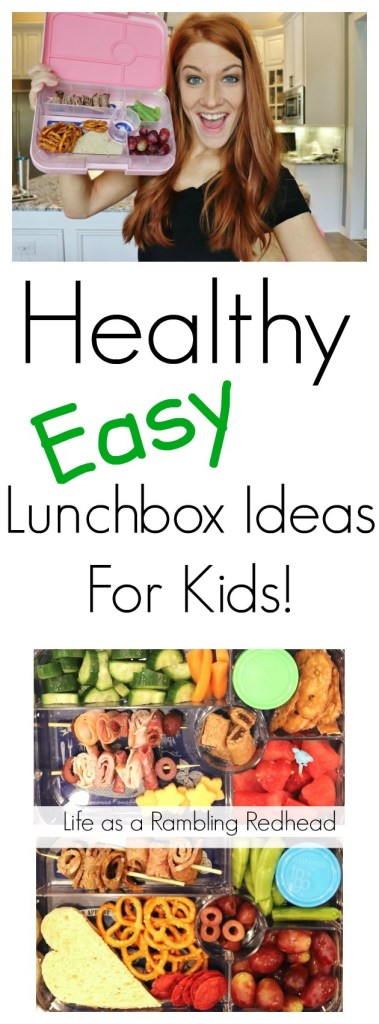 Healthy Easy Lunchbox Ideas For Kids! (Life as a Rambling Redhead)