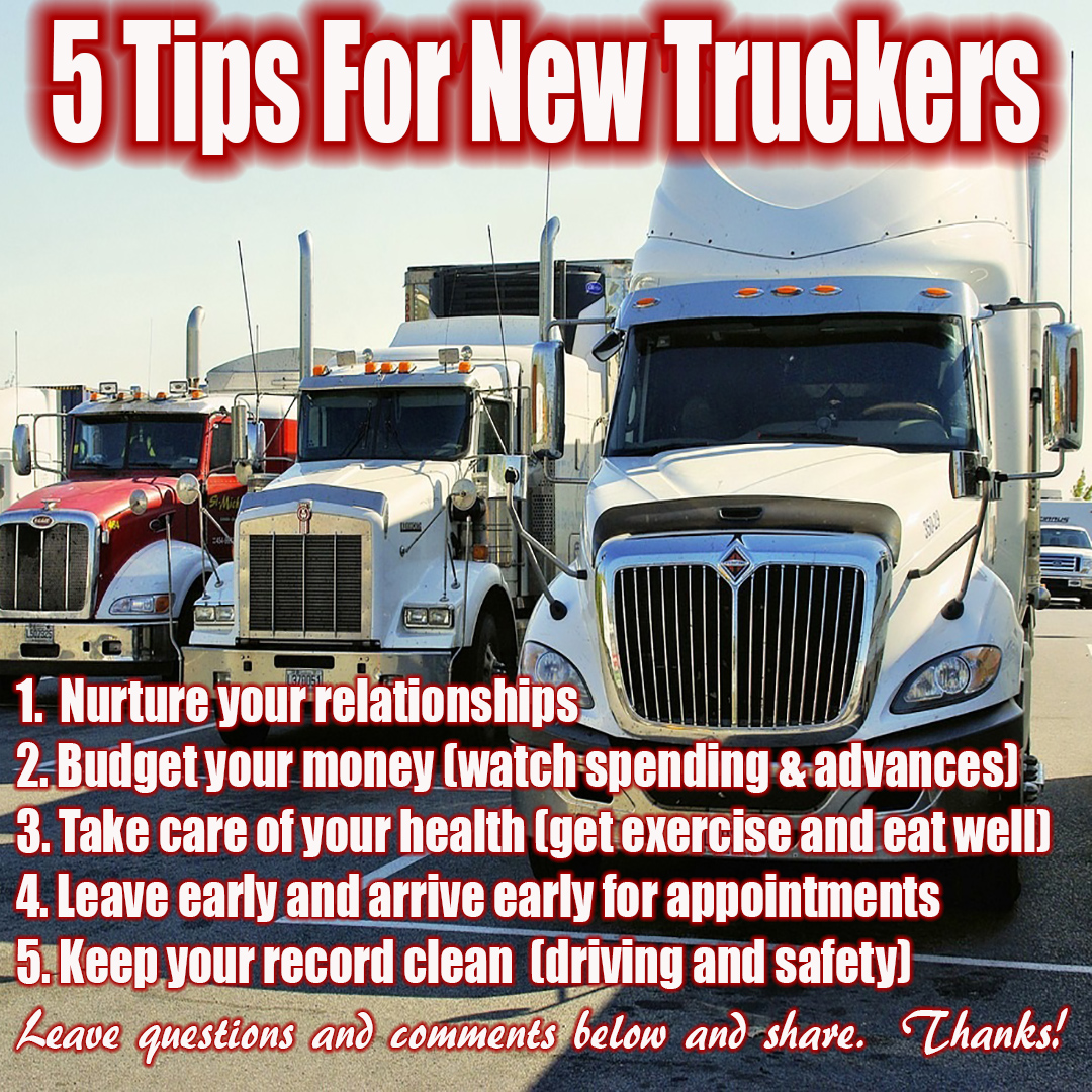 Career Trucking Trucking Tips For New Drivers