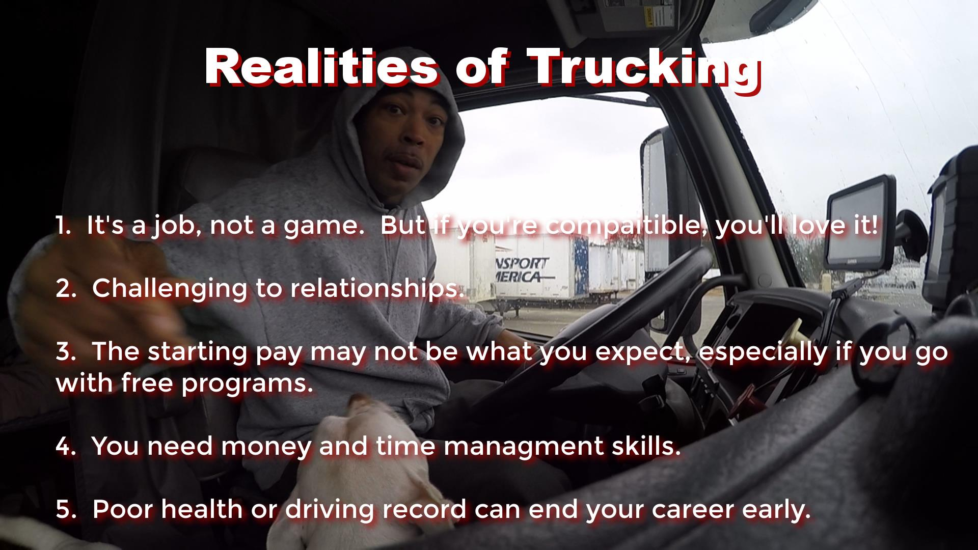 Career Trucking Reality Of Trucking