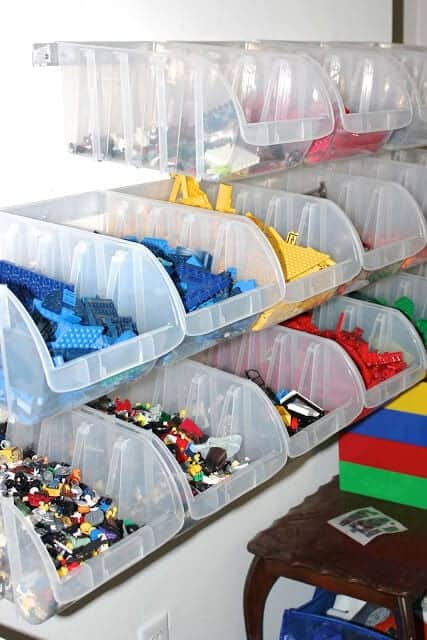 Lego Storage Ideas To Keep Your Bricks Organized - Kinderzimmer Junge Feuerwehr