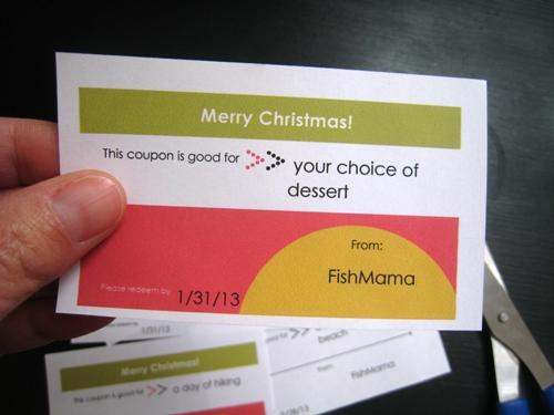 DIY on a Dime Printable Gift Coupons - diy printable coupons