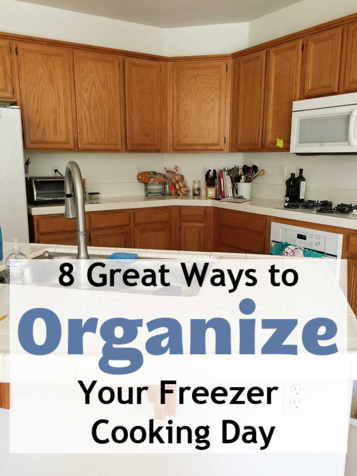 8 Great Ways to Organize Your Freezer Cooking Day - Life As Mom