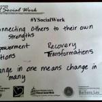 Social Work & Social Work Professionals + #ysocialwork