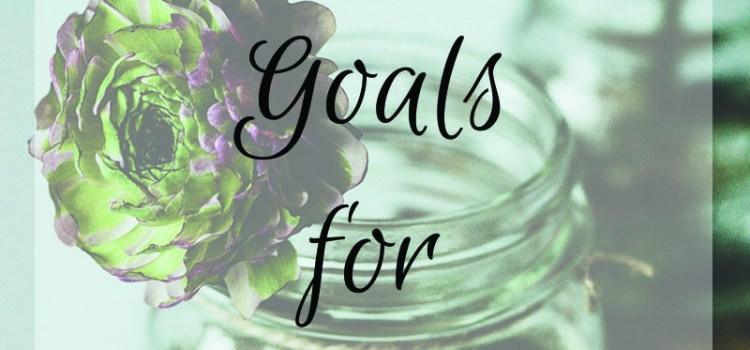 Making Progress & Moving Forward {September 2016 Goals}