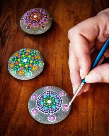Pinturas Cin Amazing Stone Painting Ideas And Designs - Life Chilli