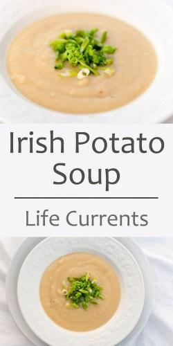 Classy Irish Potato Soup Roasted Steamed Green Onionsfor Saint Irish Potato Soup Irish Potato Soup Jason Deli Ingredients Irish Potato Soup Recipe Sourn Living