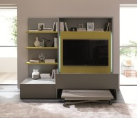 Large Entertainment Center - Electric Fireplace ...