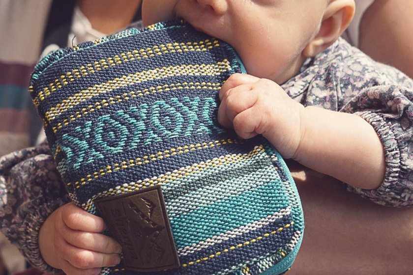 OutDoor 2016-Unser Baby mit der neuen Tasche von Sherpa
