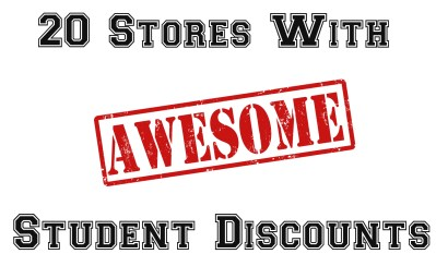 student discounts – Life Frosting