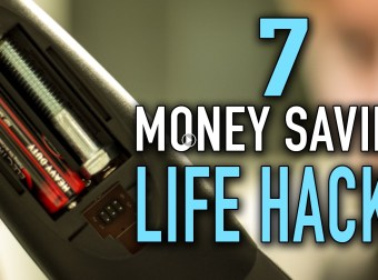 Never know when or where your money leaks! here's some 7 Money Saving Lifehacks !