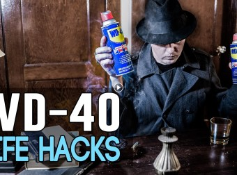 THE Almighty WD-40 !!!!!!!! Does everything !!!!!