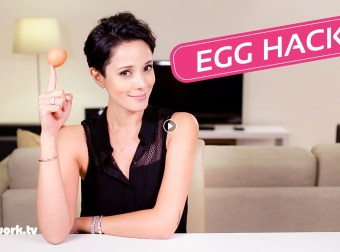 Egg Hacks when you're cooking eggs