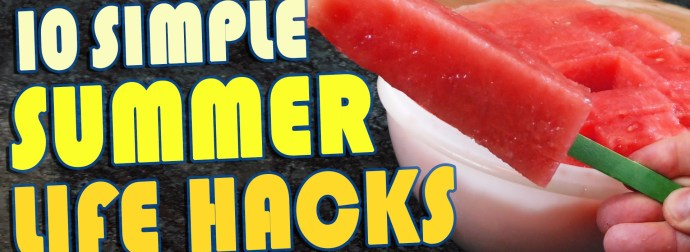 Cool Down With These Summer Treats (and other Summer Hacks)