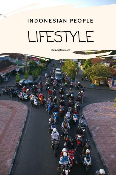 Indonesian people lifestyle | Life in big tent