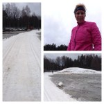Skidor, powernap och kalas