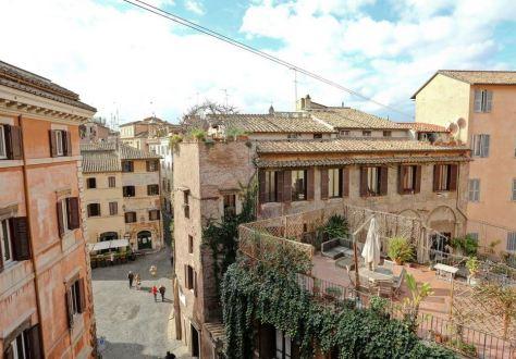 Vårt boende i Rom