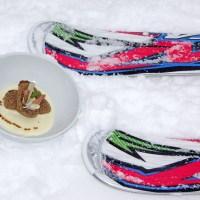 Slope food in Alta Badia