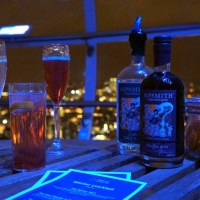 Winter cocktails on the London Eye