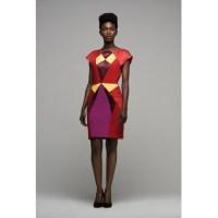Fashion pick: Graphic silk dress Tina from AntiKOD By HapsatouSy