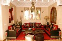 Moroccan Sitting Room  Luxury Goods