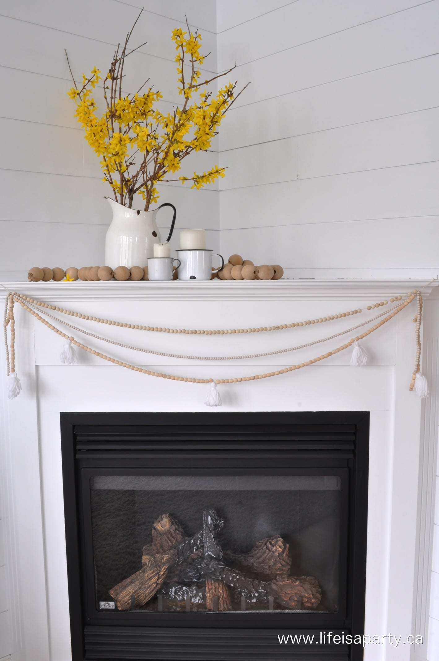 Fireplace Decal Fireplace Makeover