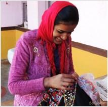 Rabari Woman Embroidery