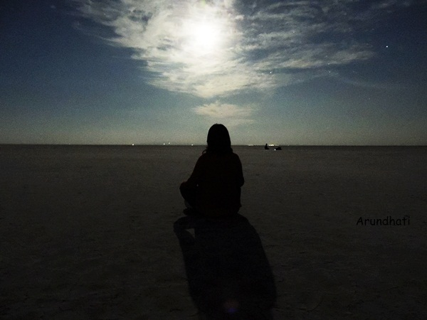 Moonwashed in Rann of Kutch