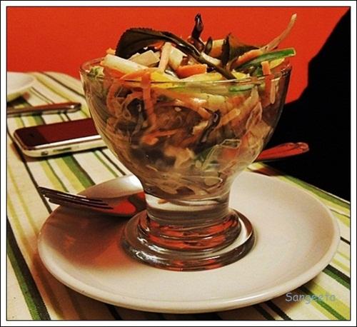 Tea Themed Dishes Salad
