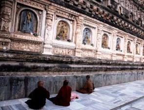 Bodhgaya-WallBuddha