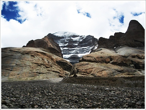 Mount Kailash-First Glimpse