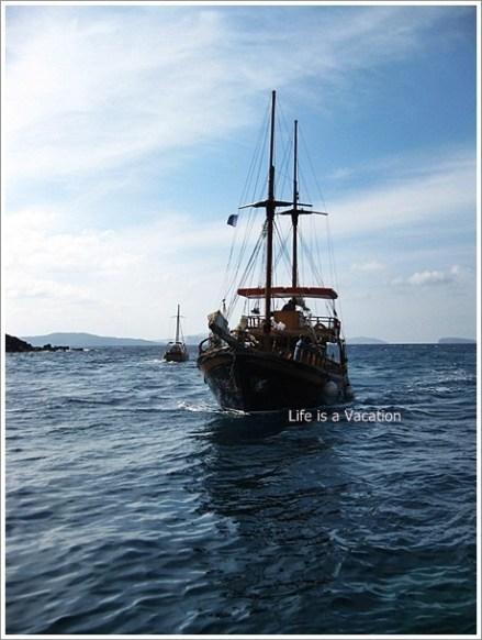 Aegean-Fira Tour Ship