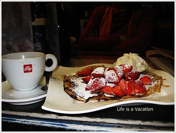 Desserts in Belgium - Crepe