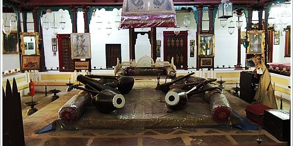 Palace of Mirrors-Aaina Mahal, Bhuj, India