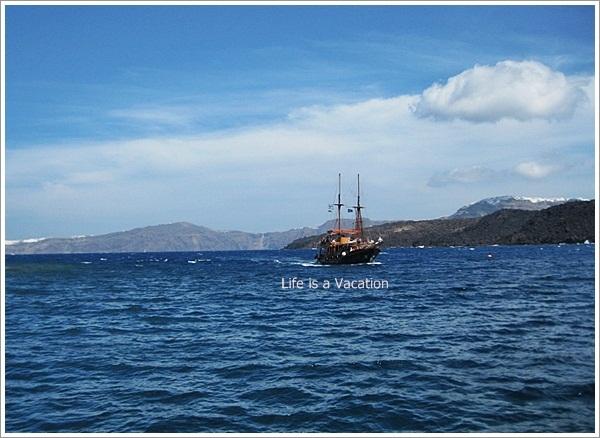 Nea Kameni-Santorini-Greece