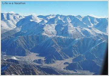 Himalaya from Leh Delhi Flight